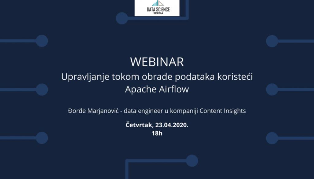 Upravljanje tokom obrade podataka koristeći Apache Airflow