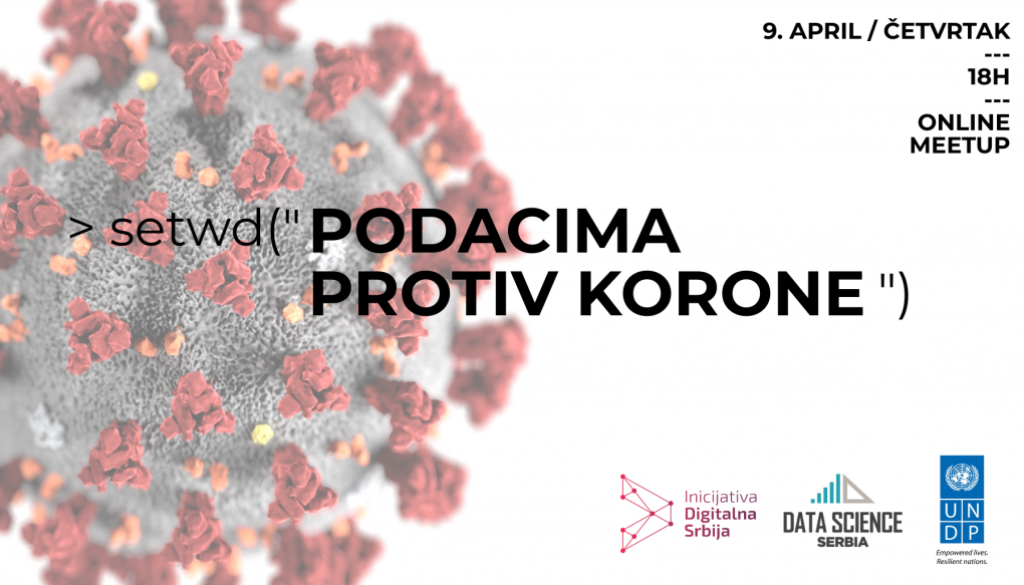 Podacima protiv Korone — poziv za udruživanje data science inicijativa