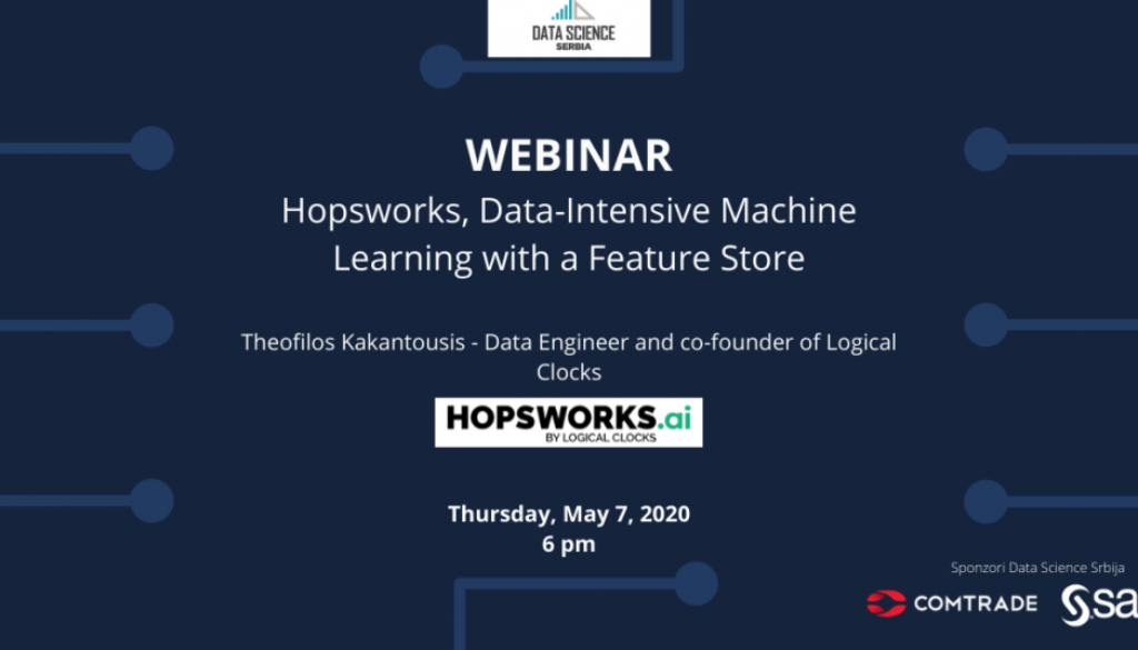 Webinar: Hopsworks, Data-Intensive Machine Learning with a Feature Store