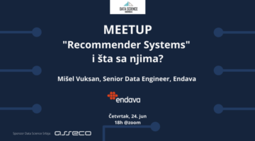 Recommender Systems i šta sa njima -Mišel Vuksan