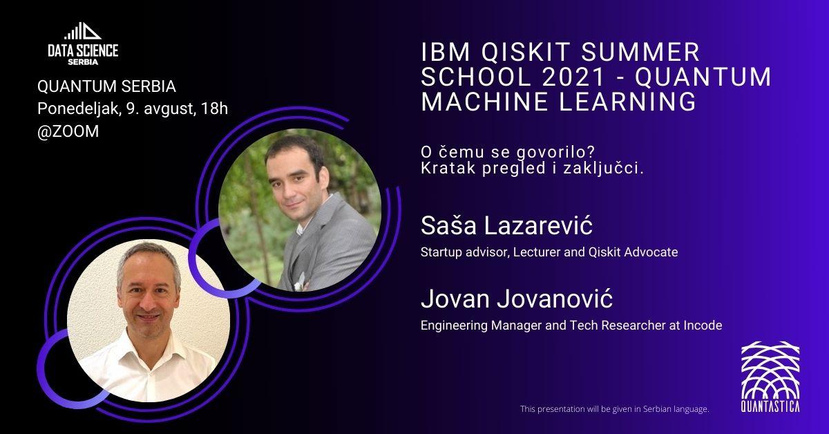 IBM Qiskit Summer School 2021 - Quantum Machine Learning